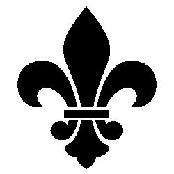 FleurDeLisBlk